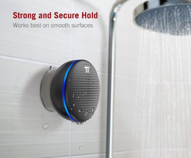 Bluetooth Shower Speaker (6 Hours Play Time)
