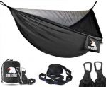 Ultra-lightweight Hammock with Mosquito Net  (2 Person, up to 350 kg)