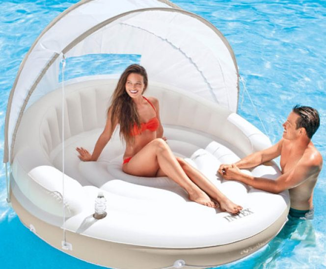 Floating Inflatable Canopy Island