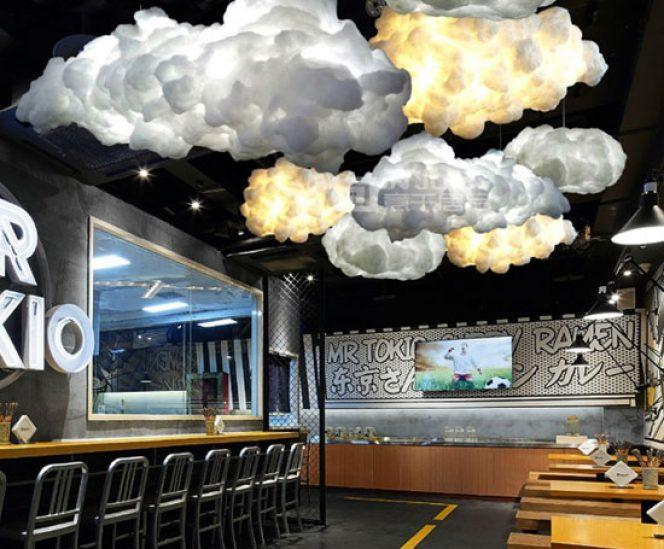Cotton Cloud Chandelier