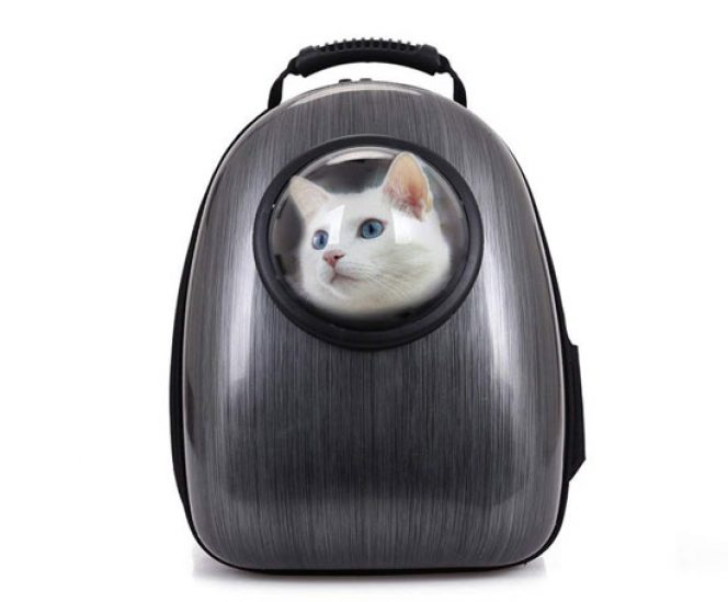 Bubble Space Backpack for Cats and Dogs Puppy