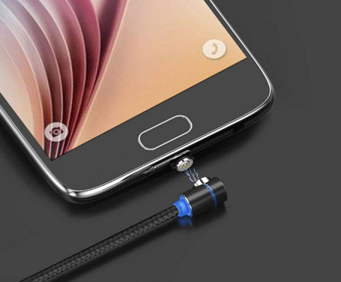 LED Magnetic USB Charging Cable – Multi 3-in-1