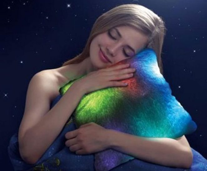 Mood Colour Changing Pillow (10 LED, 7 Moods)
