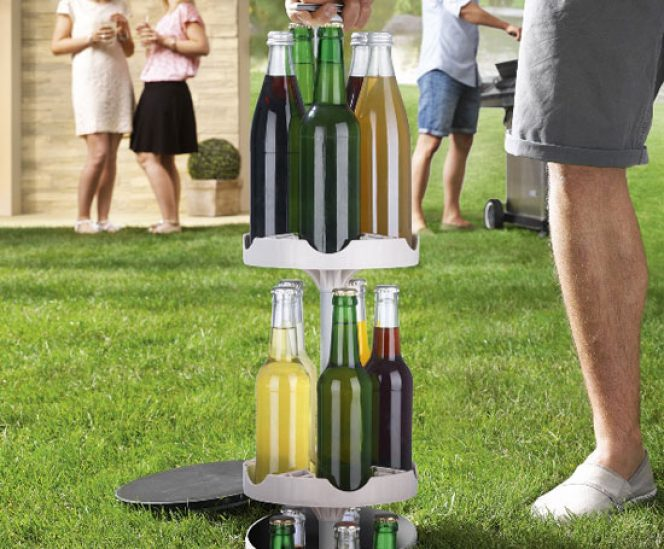 Outdoor Underground Bottle Cooler without Electricity