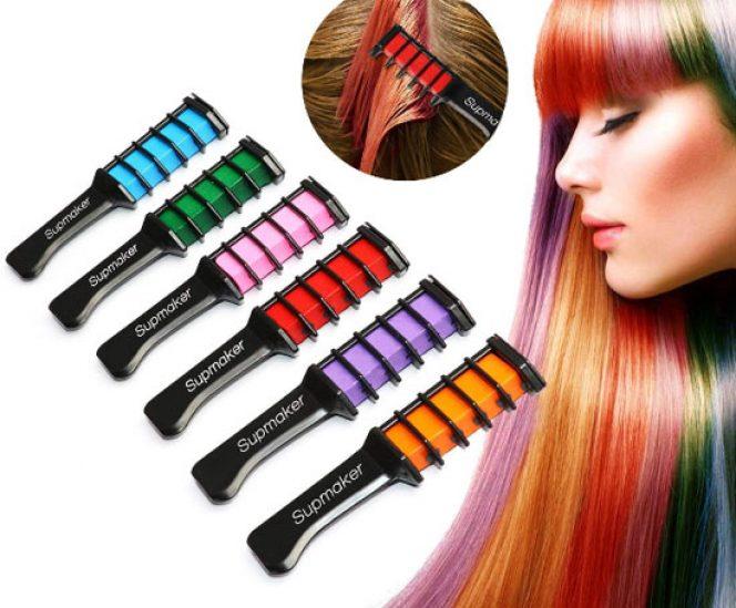 Temporary Hair Chalks Colour Set