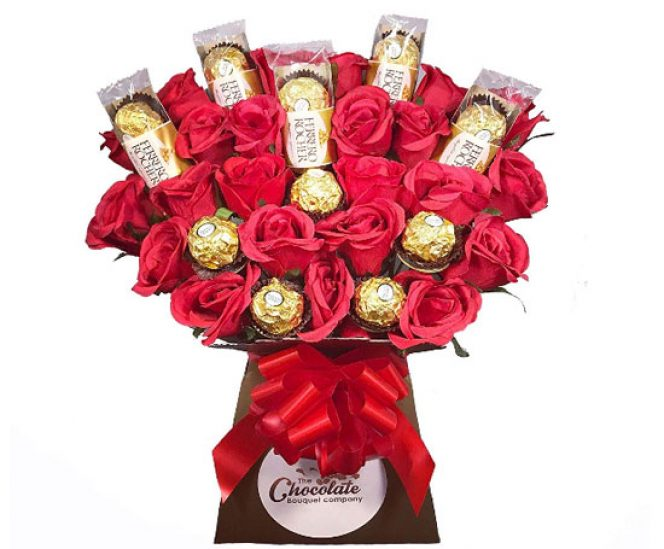 The Ferrero Rocher Chocolate Bouquet