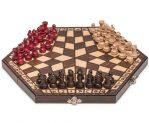 Wooden Three Player Chess