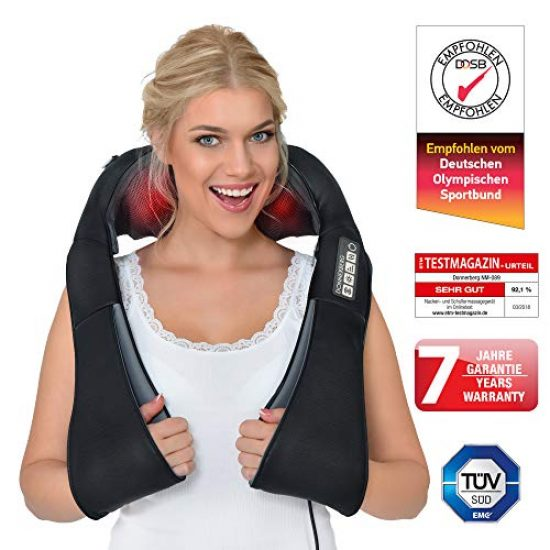 Shiatsu Back Massager – Pain Relief for Neck and Back