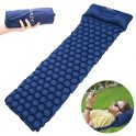 Inflatable Ultralight Sleeping Mattress with Attached Pillow