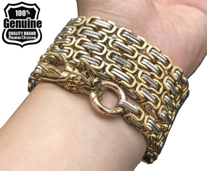 Self defence hand bracelet chain (Stainless Steel)
