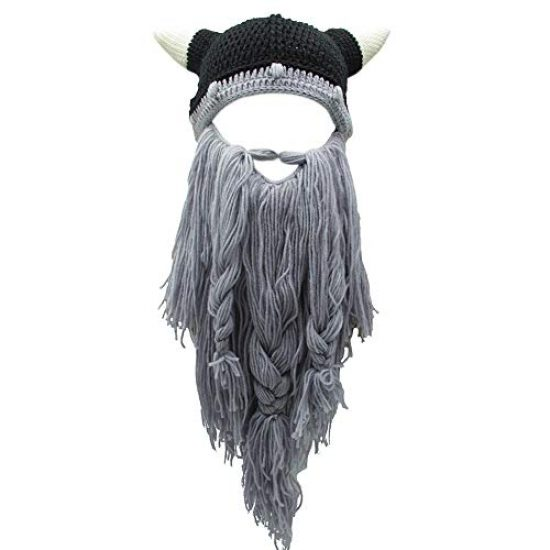 Viking Fake Beard Beanie